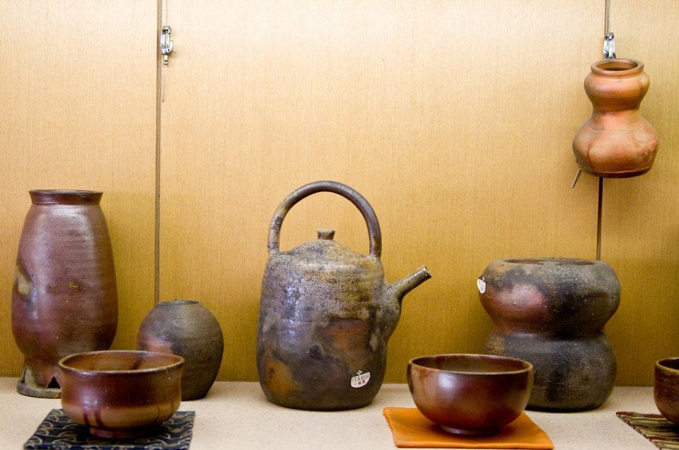 Bizen ceramic