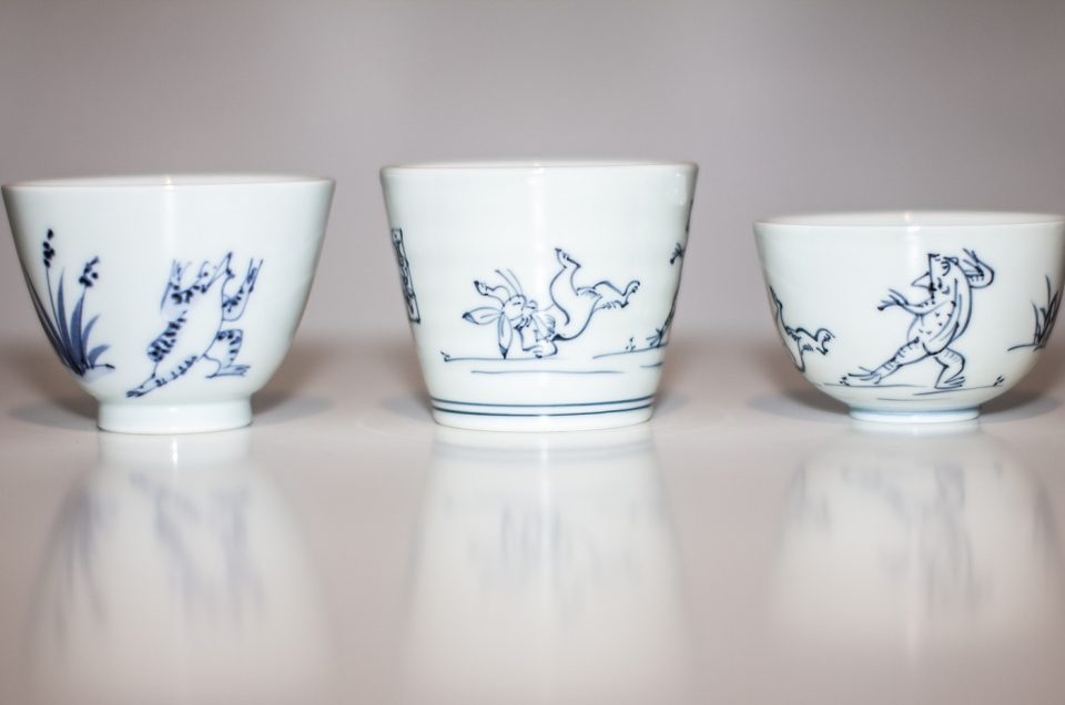 Ceramic tour with a gallery owner
