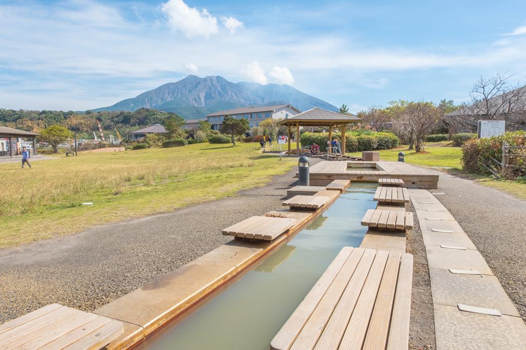 sakurajima mountain onsen