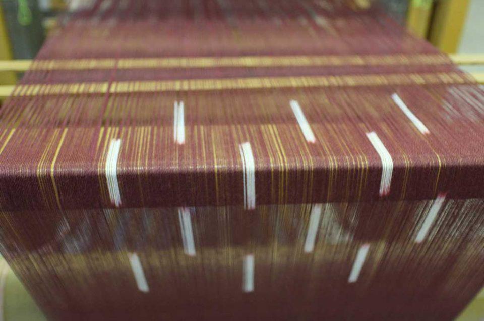 Weaving Kasuri