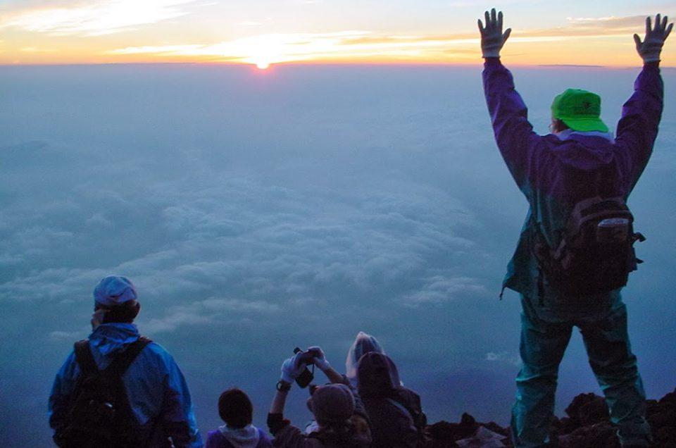 Climb Mount Fuji (from Hakone)