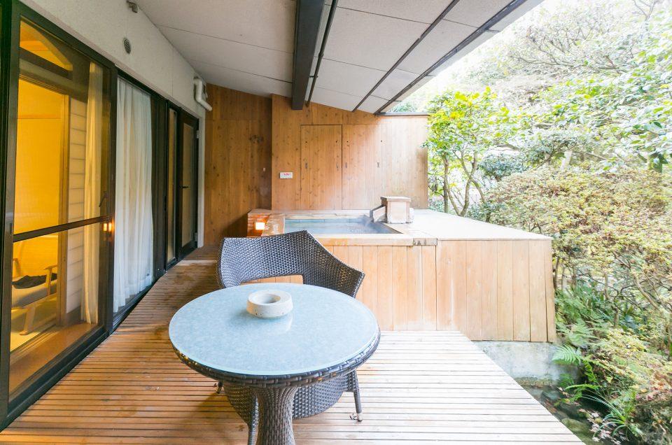 Kashikiri private baths