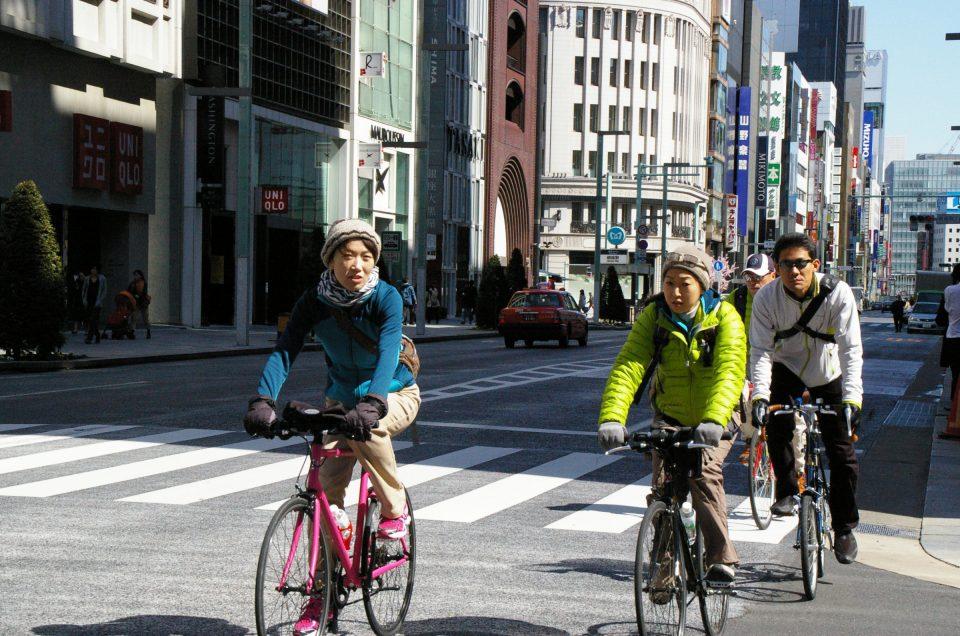 Tokyo city bike tour