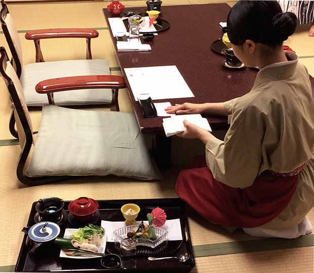 Japanese cuisine: Kaiseki