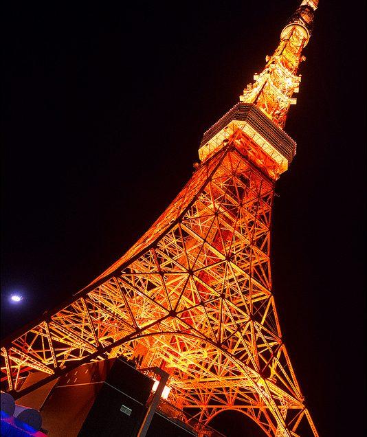 Shiba Park and Tokyo Tower