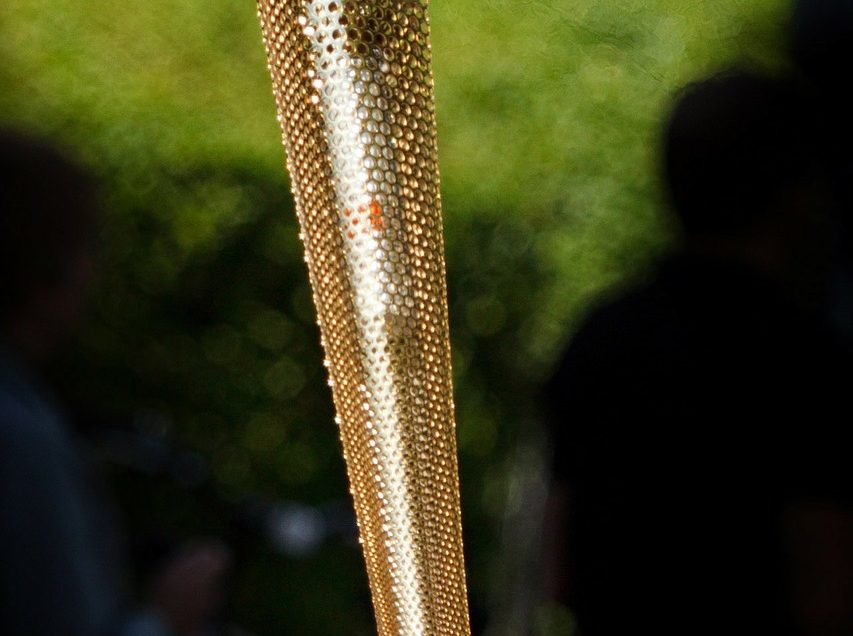 At 118, he will carry the Olympic flame in Japan