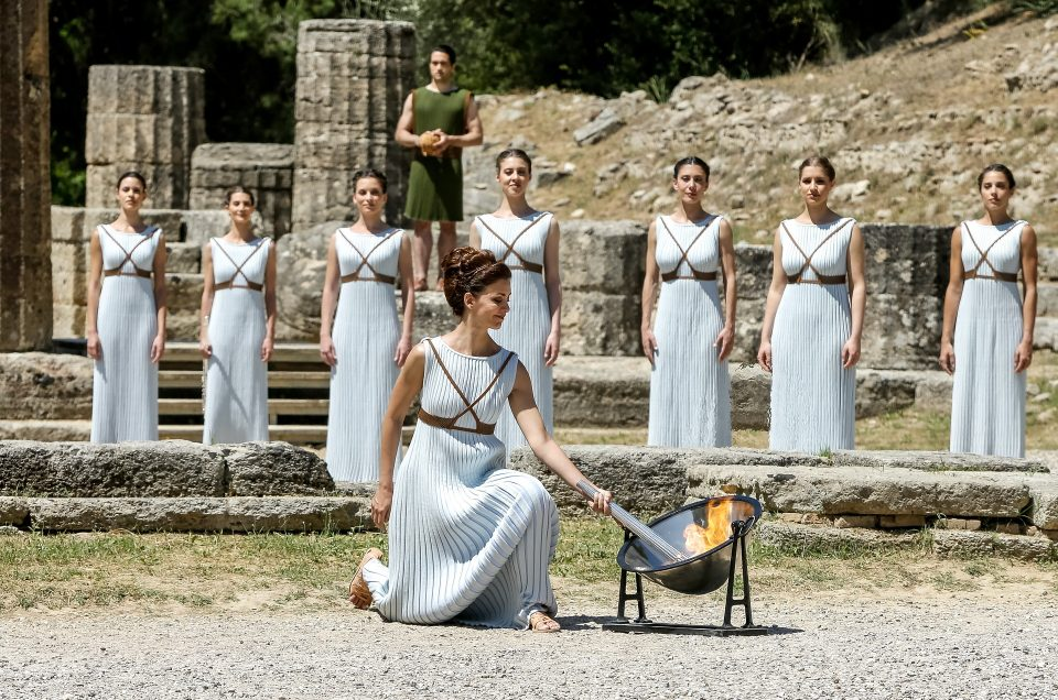 The Olympic flame will begin its journey in March with anti-covid measures